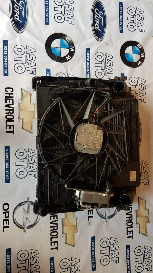 Bmw x3 f25 Orjinal Çıkma Radyatör Set