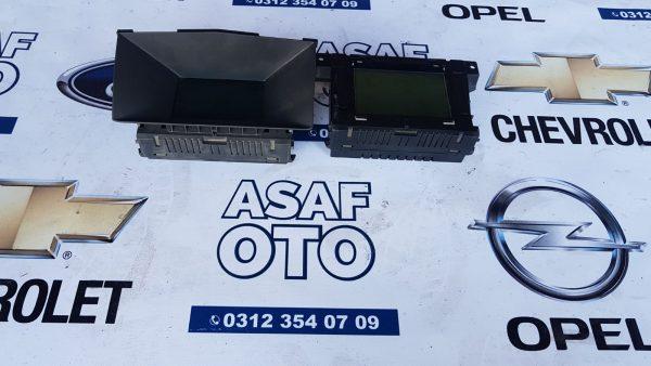 Opel Astra H Orjinal bilgi ekrani
